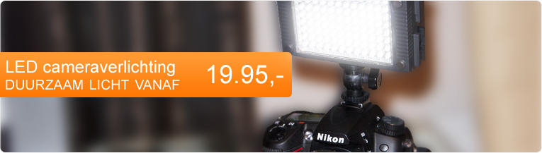 Led cameraverlichting