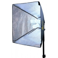 Linkstar FLS-3280SB6060 daglichtlamp 3 x 40 W met softbox 60 x 60 cm