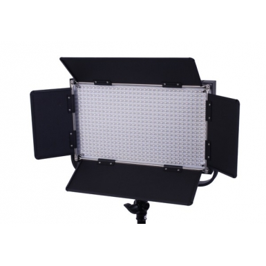 LS-LED Studio 604ASV Bi-Color + V-lock | LED studiolamp met ...