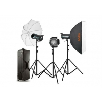 Godox Studio Trio Kit QS600-D